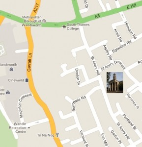Find us near Southside shopping centre